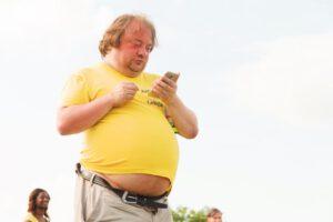 obesitas man